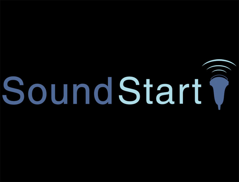 SoundStart Logo dark background